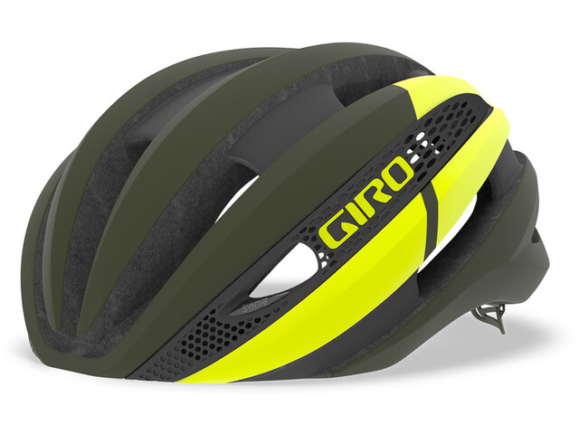 Giro Synthe MIPS Helm matte olive/citron